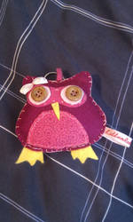 Pink Owl 2 by kitten-Red