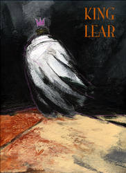 King Lear theatre poster by jonesray