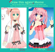 :meme: Draw this again meme by Amuyuki
