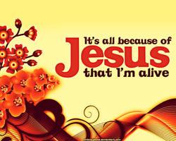 All Because of Jesus by chibinuyasha