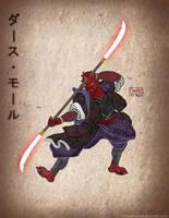 Darth Maul Japanese version by pahko