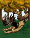 Xeus's Thanksgiving (Beast Legion Contest) by Tigershark06