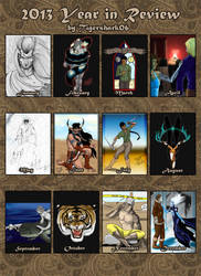 Tigershark's Year in Review 2013 by Tigershark06