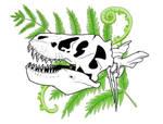 Tyrannosaur Skull by Tigershark06
