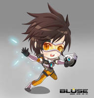 Over watch - Tracer by 0Bluse