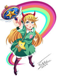 Star vs. the Forces of Evil - Star Butterfly by 0Bluse