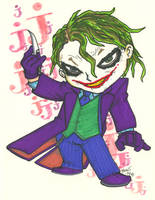 Chibi-Joker 4. by hedbonstudios
