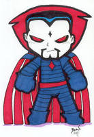 Chibi-Mr. Sinister. by hedbonstudios
