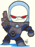 Chibi-Mr. Freeze. by hedbonstudios
