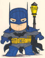 Chibi-Batman 6. by hedbonstudios