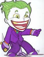 Chibi-Joker 3. by hedbonstudios