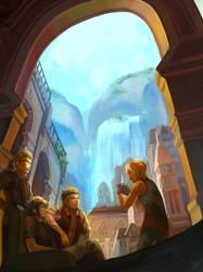Final Fantasy Altissia2 by raflael