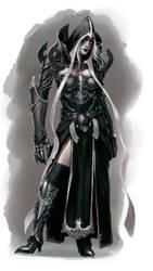 Female Mortal Malthael design for Kamui Cosplay by ZFischerillustrator
