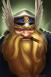 Grimbeard by ZFischerillustrator