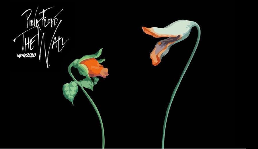 Pink Floyd The Flowers By Elclon On Deviantart