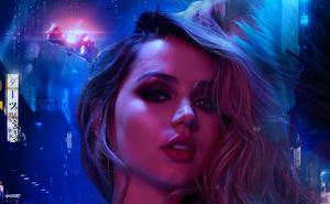 Blade Runner 2049 - Joi Wallpaper by elclon