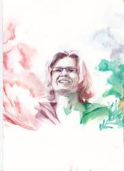 Colorful portrait by Hild3