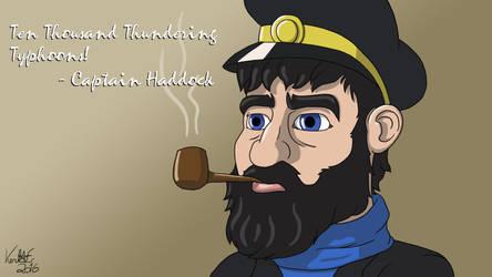 Captain Haddock by KentaeTheHatman