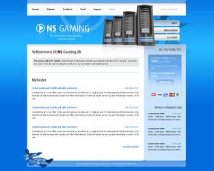 NS Gaming - Webdesign by Noergaard