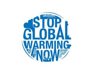 Please stop global warming now by Noergaard