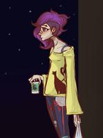Purplehair by CaitlinBear