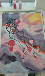 Dream Catcher Painting by Jadenredcoat