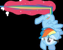 Rainbow Dash! STOP! by krazy3