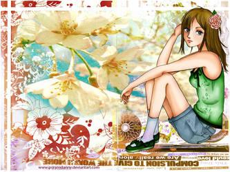 Floral Girl by poisondanny