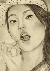 Hye Kyo by poisondanny