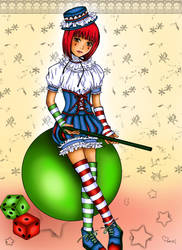 Cute Clown by poisondanny