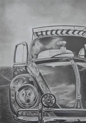 Volkswagen Beetle by poisondanny