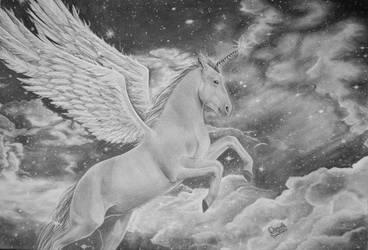 Unicorn Pegsus by poisondanny
