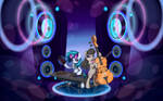 Vinyl Scratch and Octavia Melody by INowISeeI