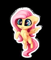 Chibi FlutterShy sticker by INowISeeI