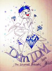 DanTDM The Diamond Minecart .:gift:. by Vaynoo
