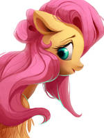 fluttershy by Shira-hedgie