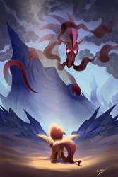DragonShy by Shira-hedgie