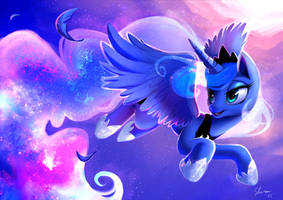 Princess Luna - Cosmic Ballad by Shira-hedgie