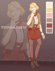 [OC] Patricia North  by Kreative-Confusion
