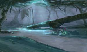 Moonlight Swamp by cjohn22