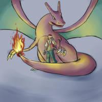Red Pokemon by cjohn22