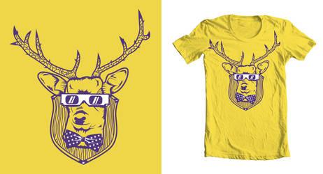 deer to my heart - t shirt by neilakoga