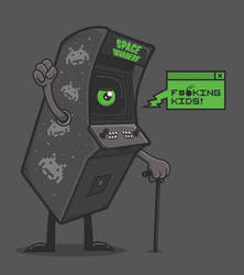 the coin-op kid by neilakoga