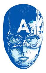 Captain America by neilakoga