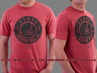 Zebes Morph Balls T-Shirt by unknowndesigner