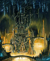 Tiania the capital city of the dwarfs by vladimirdrak