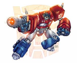 Optimus Prime by AlonsoEspinoza
