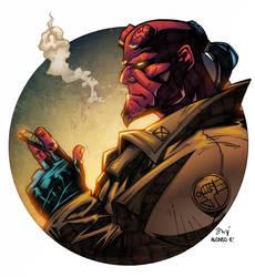 Hellboy by AlonsoEspinoza