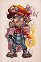 Mario by AlonsoEspinoza