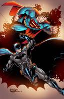 Superman/Batman by AlonsoEspinoza